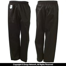 8.5 oz. Black Middleweight Karate Pants